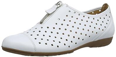 Gibson, Damen Slipper, Weiß (Leather), 41 EU Gabor