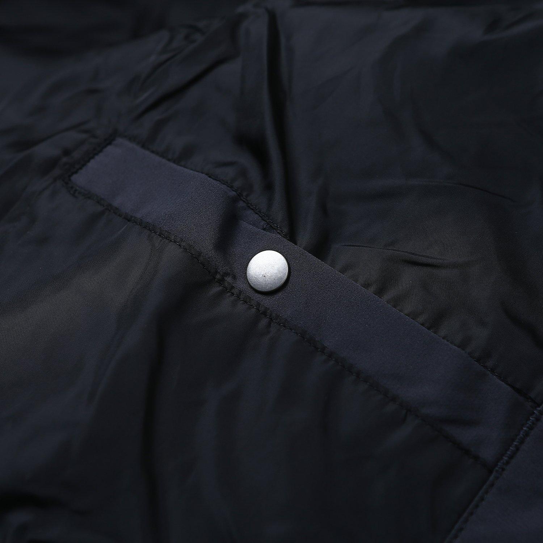 BOSIDENG Men's Winter Goose Down Jacket Light Warm Hooded Long Smart Casual Business Outerwear(185/100A 8056) by BOSIDENG (Image #4)