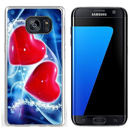 Amazon Luxlady Samsung Galaxy S7 Edge Clear Case Soft Tpu