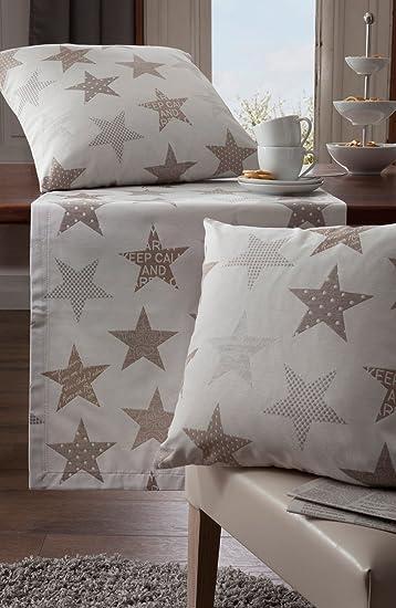 sander Tischläufer KEEP CALM Weihnachten (19 - sand/beige, 50x140 cm ...