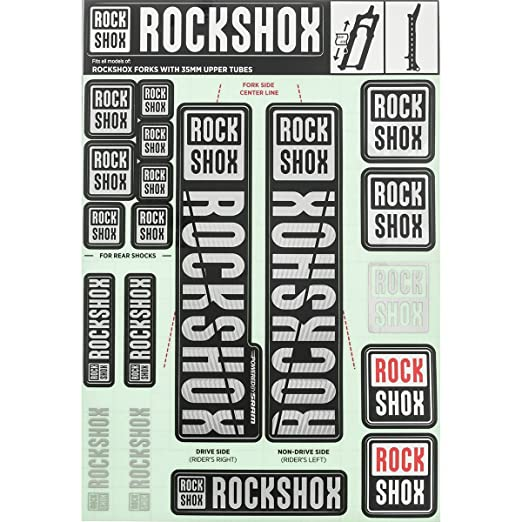 RockShox Decal Kit - 35mm