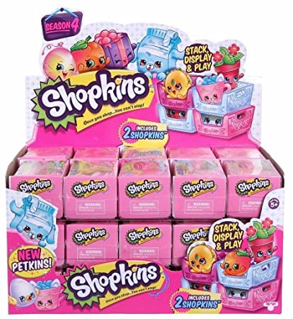 Amazon Com Shopkins Shopping Basket Season 4 Case Of 30 Toys Games