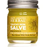 Touchy Skin Salve, Calendula Cream, Eczema Cream For Adults, Calendula Ointment, Eczema Treatment, Healing Ointment…