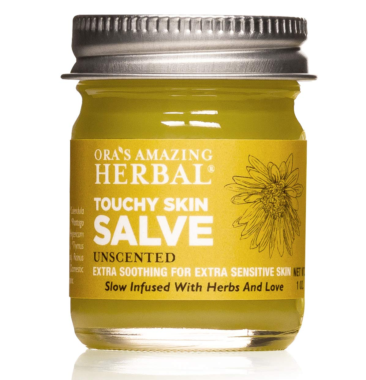 Touchy Skin Salve, Eczema Cream For Adults and Kids, Eczema Treatment, Calendula Cream, Dermatitis, Dry Hands, Calendula Ointment, Healing Ointment, Ora's Amazing Herbal