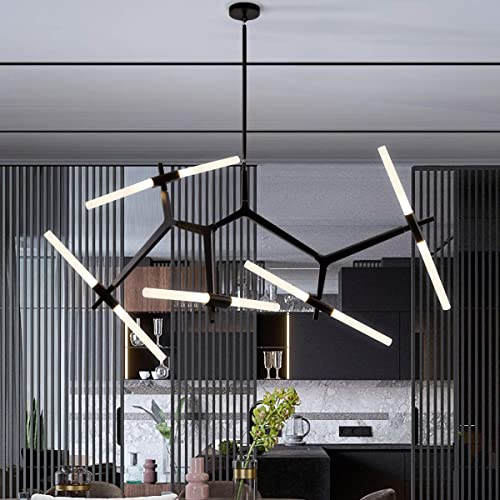 Weesalife Sputnik Modern Chandelier 10-Light