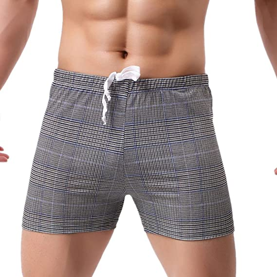 Btruely Herren Bóxer Hombre, Pantalones Cortos de Algodón Impresos Hombres Calzoncillos Bragas Respirables Ropa Interior