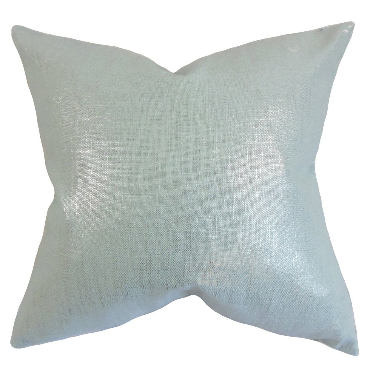 The Pillow Collection Florin Solid Bedding Sham Baby Blue Queen//20 x 30 QUEEN-d-32747-babyblue-55l45c