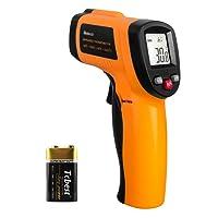 Helect Termómetro Infrarrojo Digital Láser Sin Contacto, Pistola de Temperatura -50℃ a 550℃