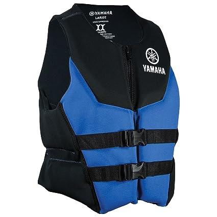 Amazon Com Yamaha Life Jacket Neoprene Blue Blue Large Sports