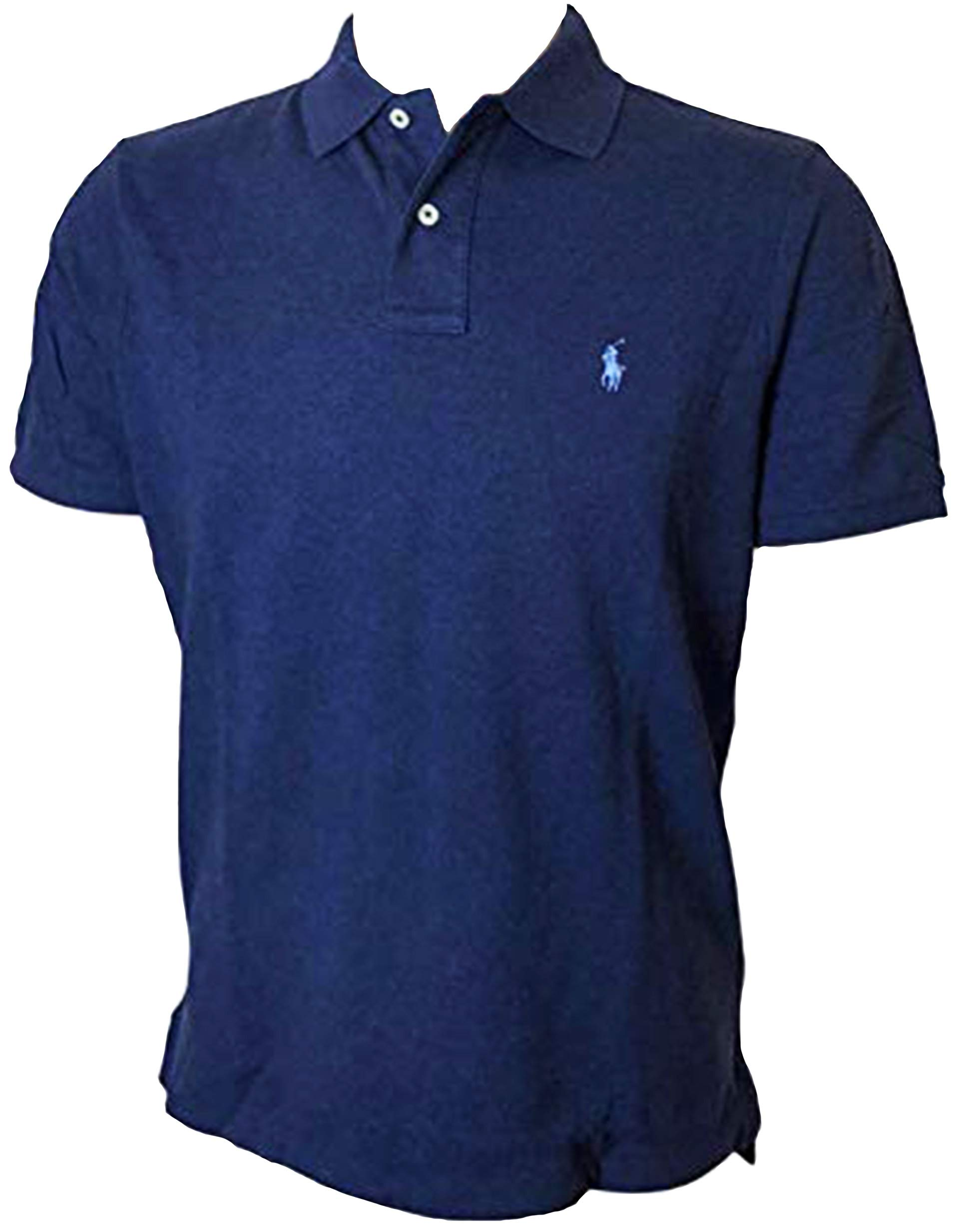 Polo Ralph Lauren Mens Classic Mesh Polo Shirt (XXL, Spring Navy) by Polo Ralph Lauren
