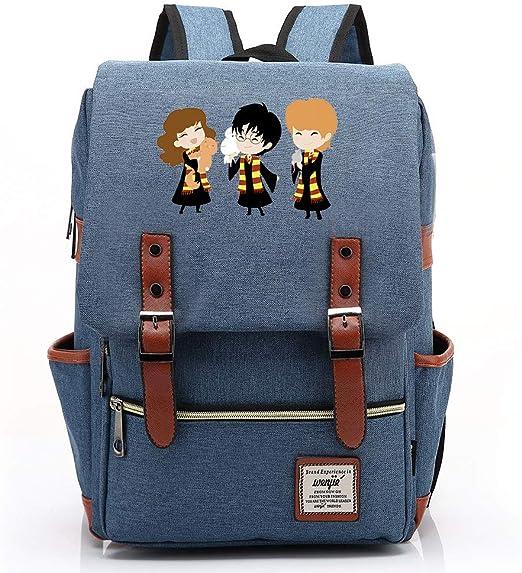 GXB Hogwarts College Laptop Mochila, Harry/Hermione/Ron ...