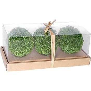 Amazon AB Home Artificial Foliage Decorative Balls 40Inch Fascinating Decorative Grass Balls