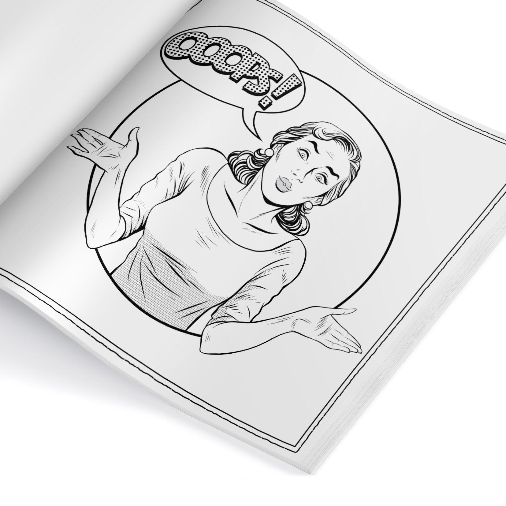 Malbuch Fur Erwachsene Trendigen Art Style Download Gallery - Ebooks ...