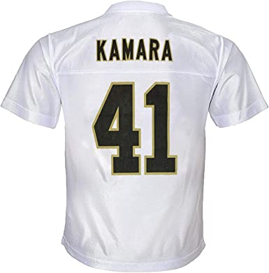 Outerstuff Alvin Kamara New Orleans Saints #41 White Youth Away Player Jersey