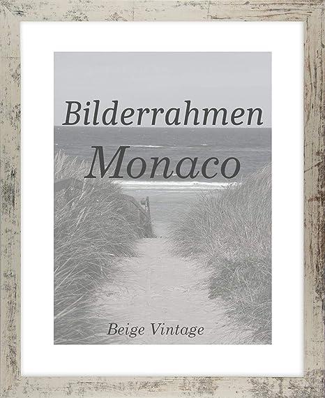 Mona 57 x 79 cm Bilderrahmen Homedeco 24 Holzwerkstoff Wahl Farbe Verglasung