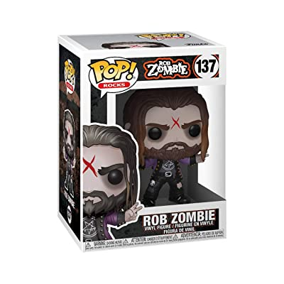 Funko Pop! Rocks: Rob Zombie: Toys & Games