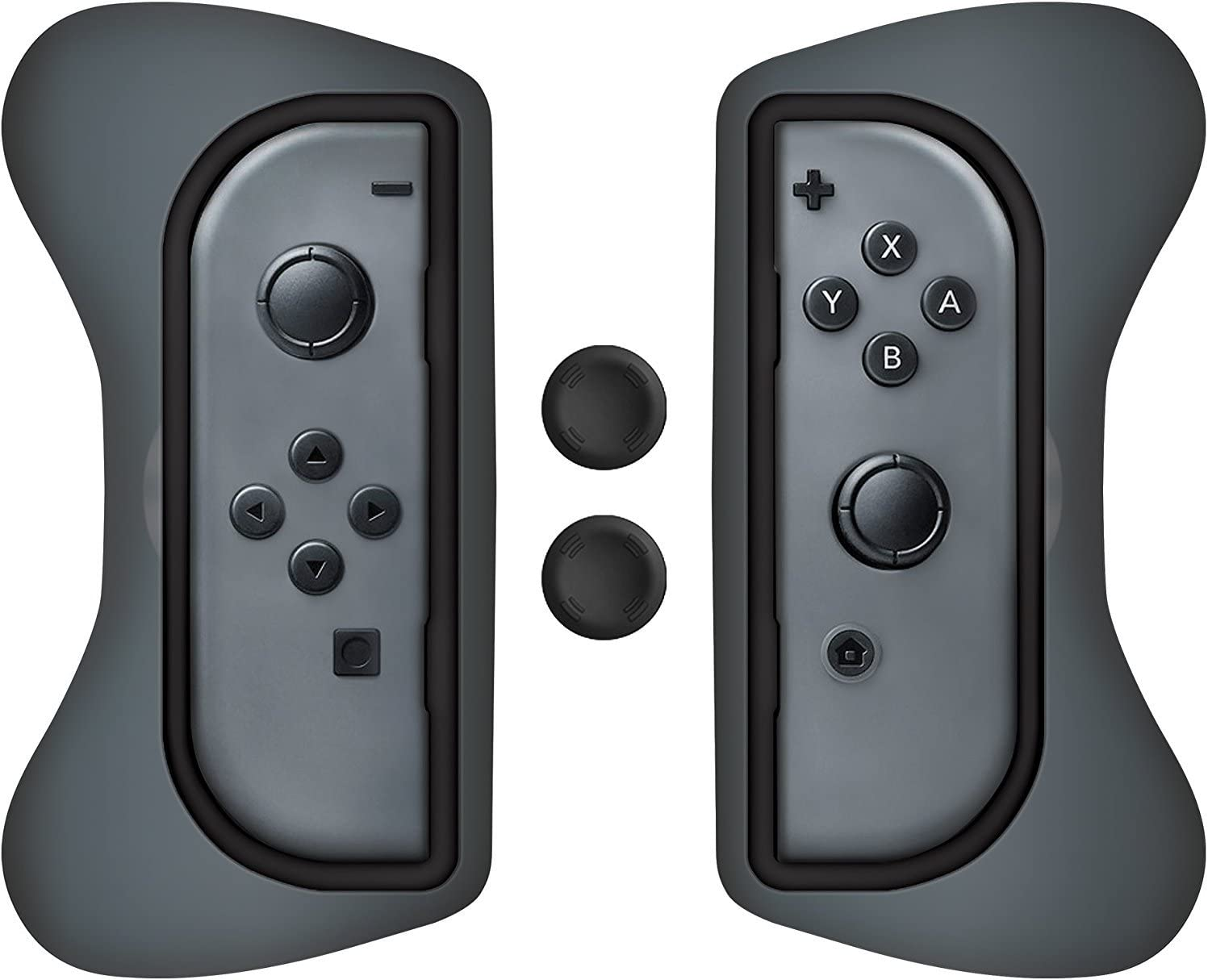 Amazon com: Surge Nintendo Switch Grip Kit, Joy-Con Grips
