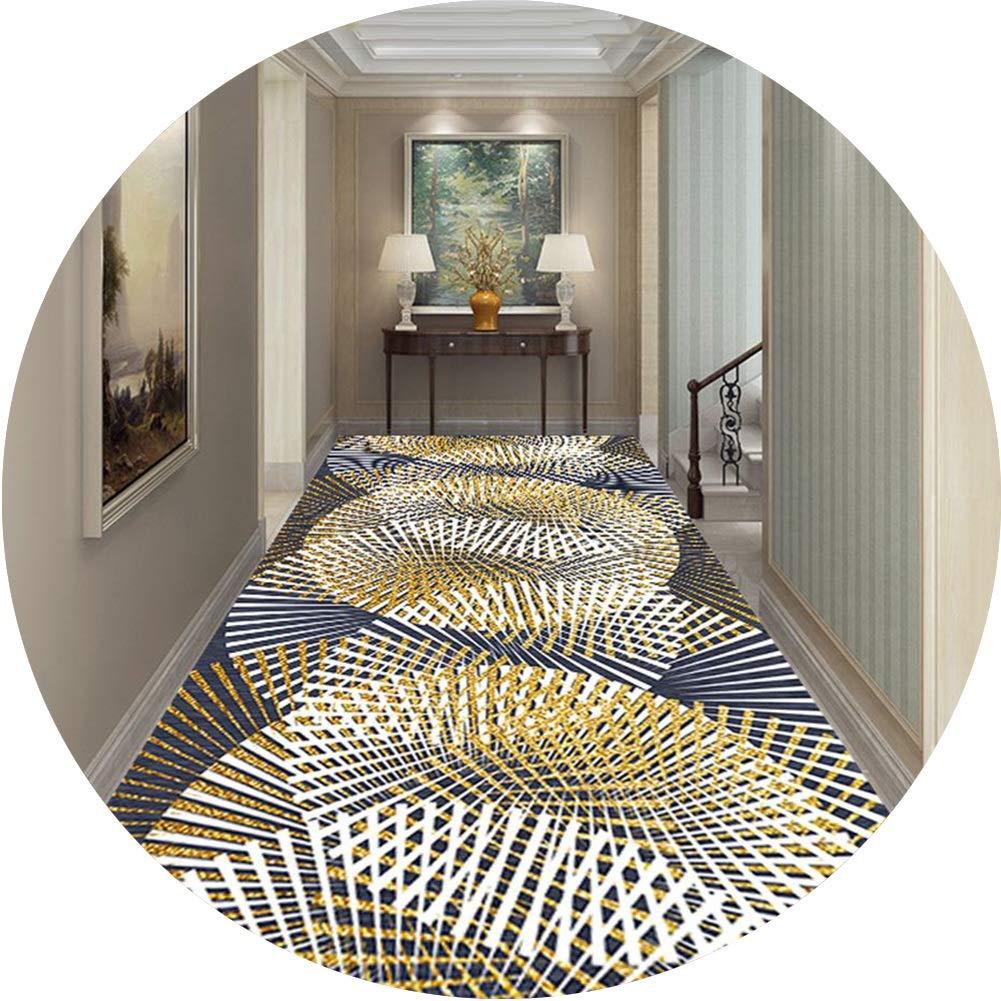 JIAJUAN 廊下敷きカーペット長方形 ランナー エリア ラグ クラシック パターン 滑り止め 耐汚染性 にとって 廊下 ホール キッチン 入り口、 カスタマイズ可能 (Color : A, Size : 1.2x3m) B07SJT5PBV A 1.2x3m