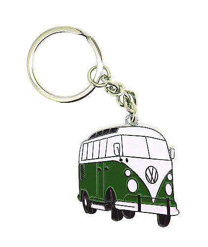 Gemelolandia Llavero Furgoneta VW Hippie Verde: Amazon.es ...