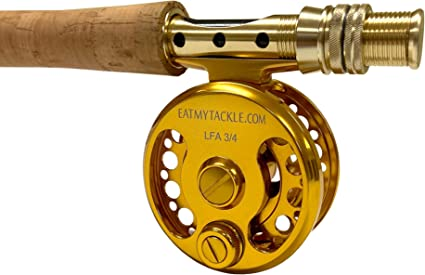 Amazon Com Eatmytackle Large Arbor Saltwater Fly Fishing Rod Reel 3 4 5 6 7 8 Wt Sports Outdoors