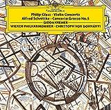 Philip Glass: Violin Concerto No. 1 Alfred Schnittke:...