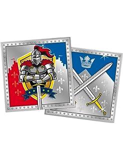 8 Stk. Einladungskarte Ritter FOLAT 62860 Geburtstag /& Party
