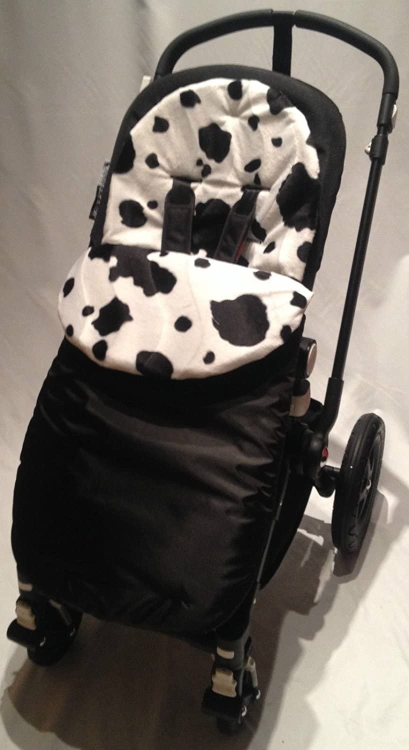 Animal Print Footmuff//Cosy Toes Compatible with Buggy Pushchiar Cow
