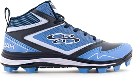 Game Molded Mid Cleats Navy/Columbia
