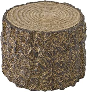 Time Concept Decorative Resin Stump Display - Small (4.33