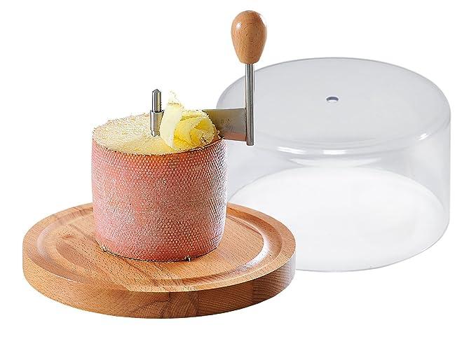 Kesper 68621 - Laminador con tapa para queso Tete de moine (21 cm): Amazon.es: Hogar