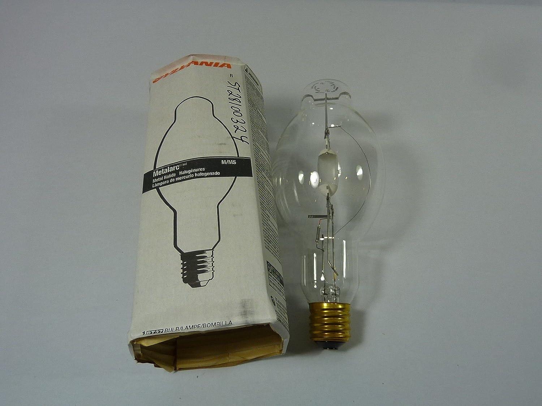 Sylvania M400/U Metalarc 400W H.I.D Clear Metal Halide Lamp BT37