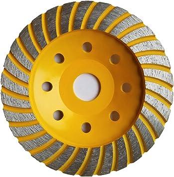 di/ámetro de 125/mm, perforaci/ón 22,22, para hormig/ón, piedra natural, etc. Disco de diamante para amoladora