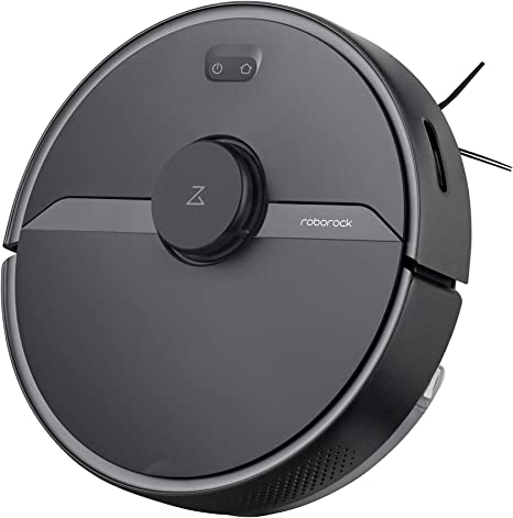 roborock S6 Pure Robot aspirador, 58 W, 69 Decibelios, Plástico, Color Negro: Amazon.es: Hogar