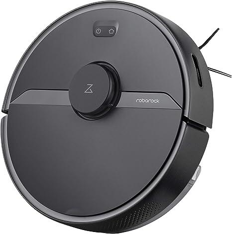 Robot Aspirador Xiaomi MI S6 Pure Black Roborock Vacuum: Amazon.es: Hogar