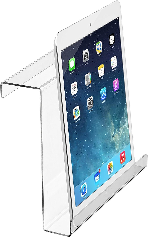 iPad /& Tablet AdirSports Acrylic Universal Treadmill Bookholder 9 x 11 x 2.5 Magazine Rack