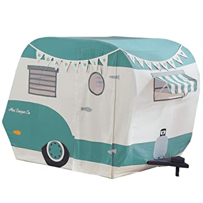 Asweets 1010400223 Indoor 43 x 55 x 36 Inch Childrens Kids Cotton Fabric Mini Camper Pretend Play House Tent for Toddlers Ages 3 Years Old and Older: Toys & Games