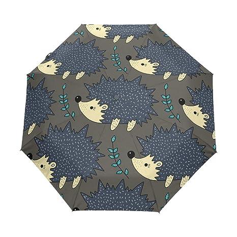 0119296a9996 Amazon.com : senya Cute Color Hedgehog Umbrella Windproof Rain ...
