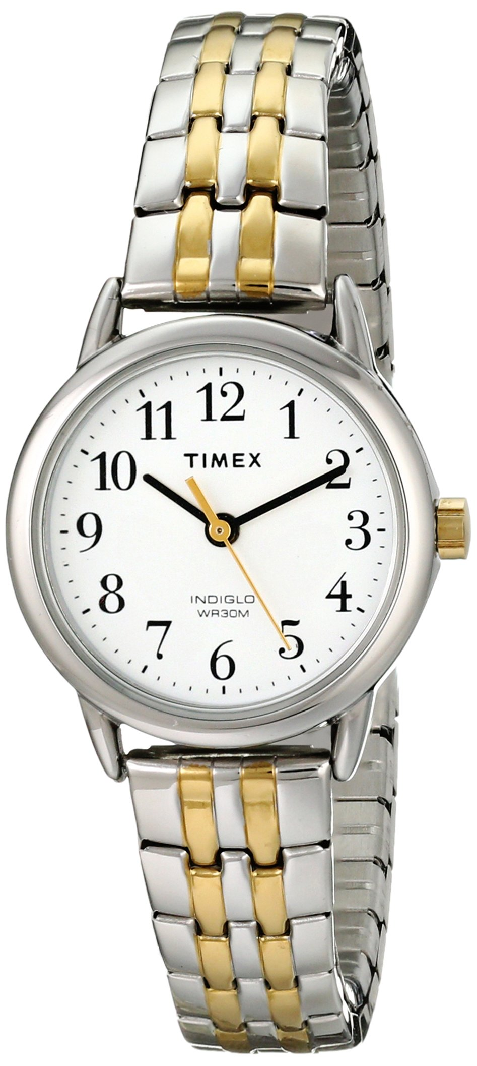 Timex Women's T2P298 Easy Reader Dress Two Tone Stainless Steel Expansion Band Watch by Timex