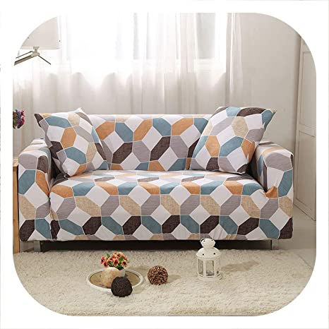 New face Funda para sofá elástica, Color Beige, para Sala de ...