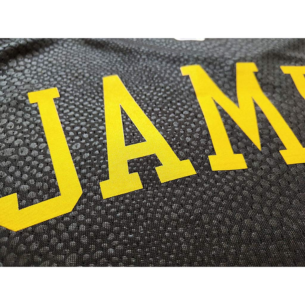 NG/&SPORTS James Maglia da Basket Maglia Sportiva Gilet Quick Drying Traspirante Lakers