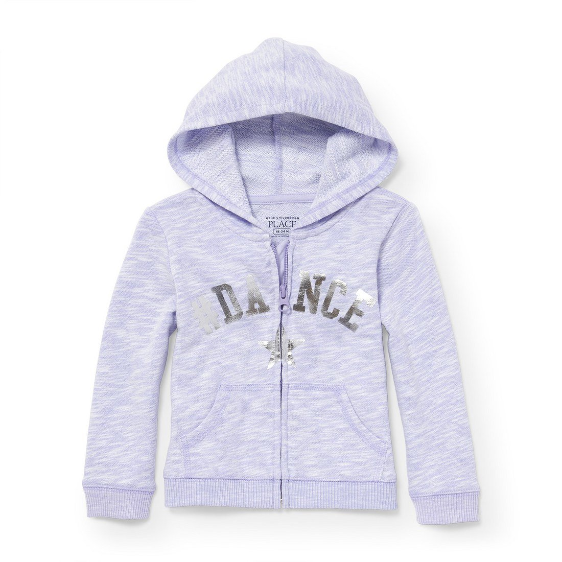 The Childrens Place Baby Girls Active Hoodie