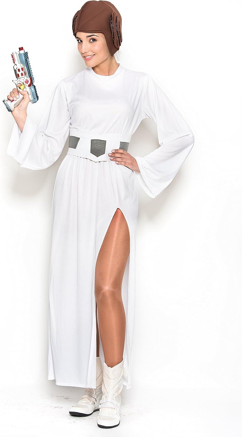 Fyasa 706421-T04 - Disfraz de Princesa galáctica para 12 años de ...