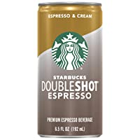 Deals on 12 Pack Starbucks Doubleshot, Espresso + Cream 6.5oz