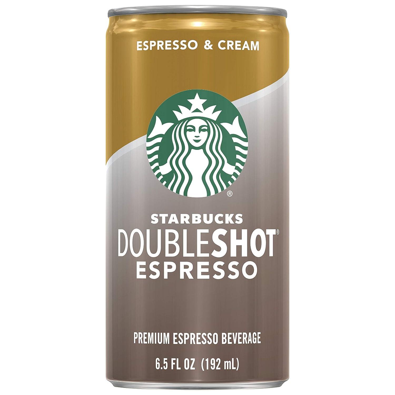 Starbucks Doubleshot, Espresso + Cream, 6.5 Ounce, 12 Pack : Energy Drinks : Grocery & Gourmet Food
