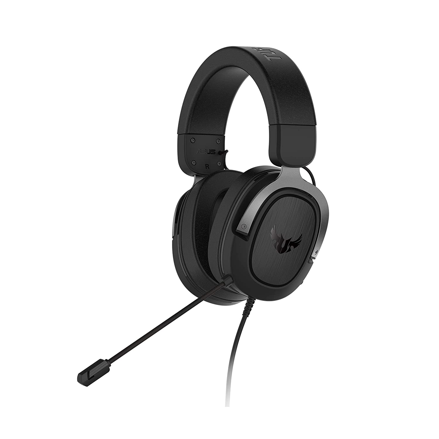 ASUS TUF Gaming H3 Gaming Headset for PC, PS4, Xbox One and Nintendo Switch, Featuring 7.1 Surround Sound, deep bass, Lightweight Design, Fast-Cooling Ear Cushions - Silver - Buy ASUS TUF Gaming