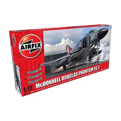 Airfix McDonnell Douglas FG.1 Phantom 1:72: Toys & Games