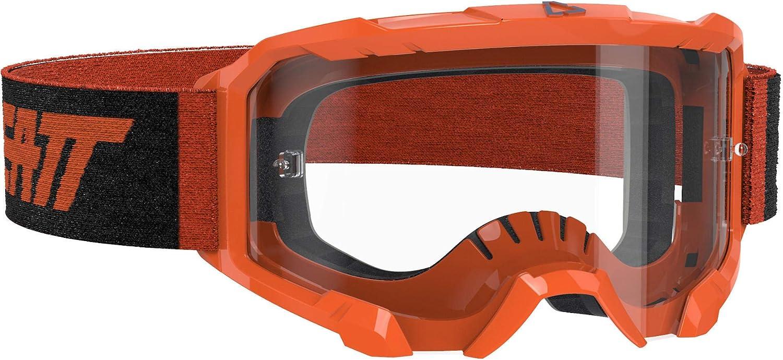 Lime Leatt Brace 4.5 Velocity Goggles