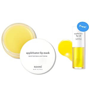 NOONI Applebutter Lip mask + Applecoco Lip Oil Bundle
