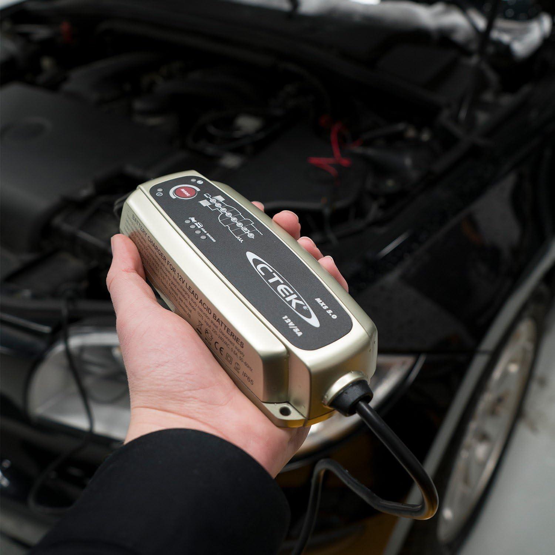 500 ml /& LIQUI Moly 6111 Unterboden-Schutz Bitumen schwarz CTEK MXS 5.0 Batterieladeger/ät Mit Automatischer Temperaturkompensation 12V 5.0 Amp EU Stecker