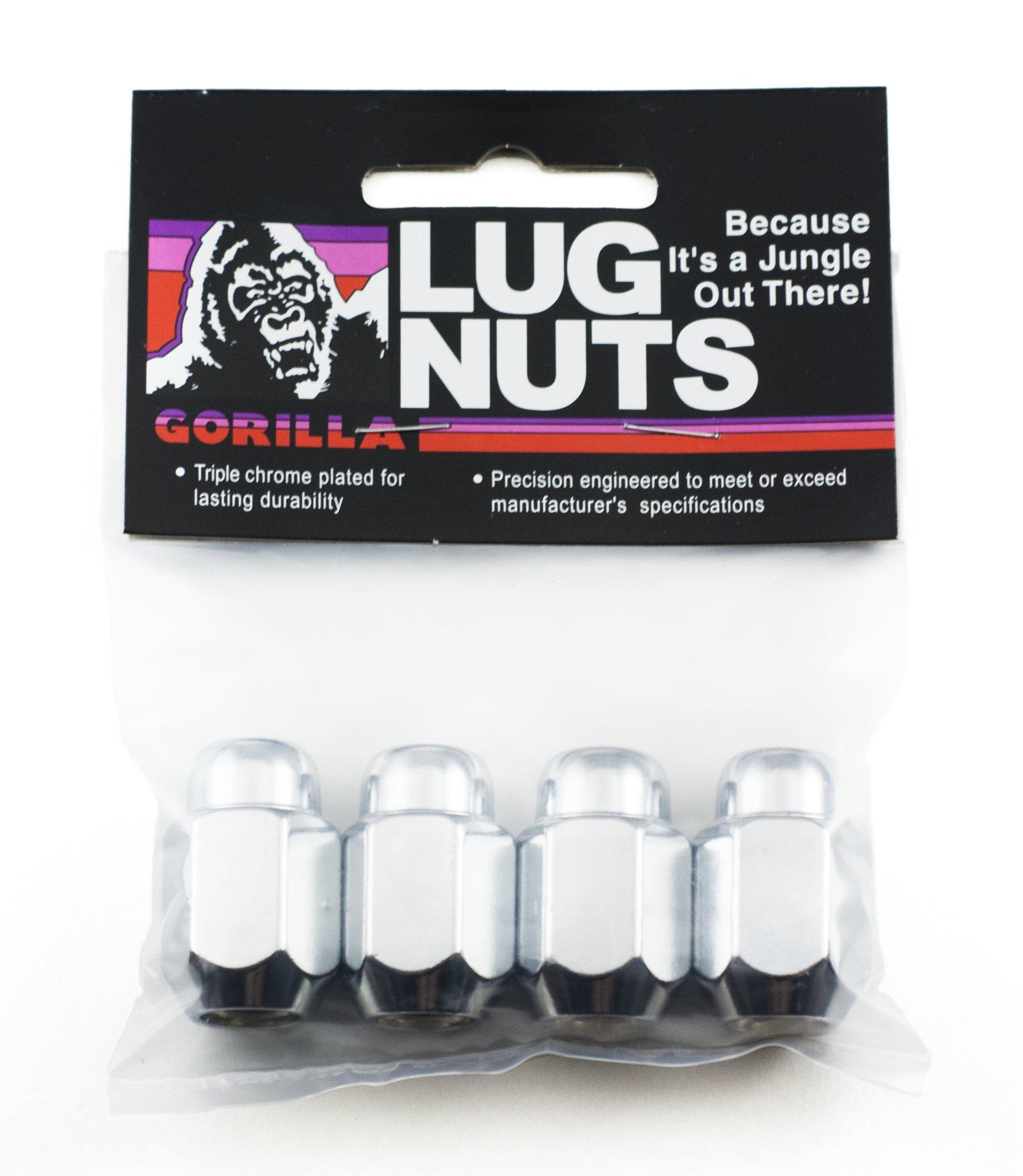 Gorilla Automotive 71187B Acorn Lug Nuts (1/2'' Thread Size)